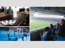 See inside Manchester City's £25kagame VIP Platinum