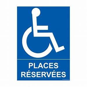 Panneau Stationnement Handicapé : panneau pmr parking places r serv es disponible en plusieurs formats ~ Medecine-chirurgie-esthetiques.com Avis de Voitures