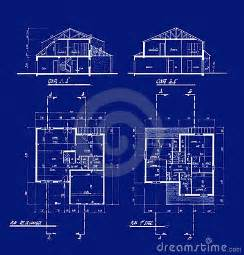 blueprint for houses house blueprints royalty free stock photography image 4506487