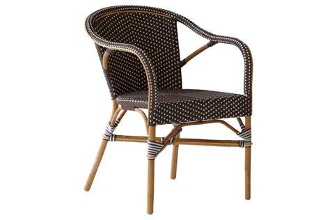 fauteuil de jardin en rotin naturel et r 233 sine tress 233 e