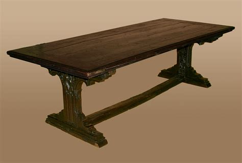 antique l tables sale rare northern european gothic period refectory table for