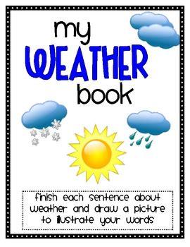 weather book    st grade teachers pay teachers