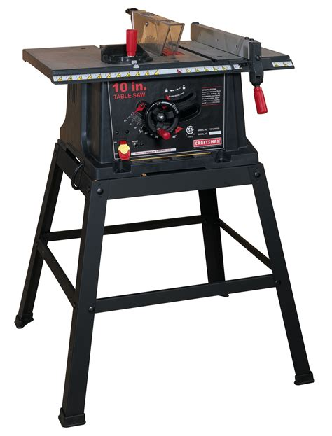 table saw blade direction craftsman 13 10 quot table saw with stand 21802 shop