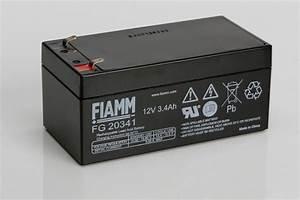 Batterie 12v 4ah : fiamm fg20341 12v 3 4ah sealed lead acid battery ~ Medecine-chirurgie-esthetiques.com Avis de Voitures