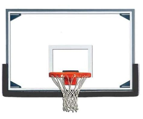 basketball backboard view specifications details