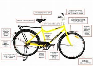 Qhubeka Buffalo Bicycle Diagram  Designed Especially For