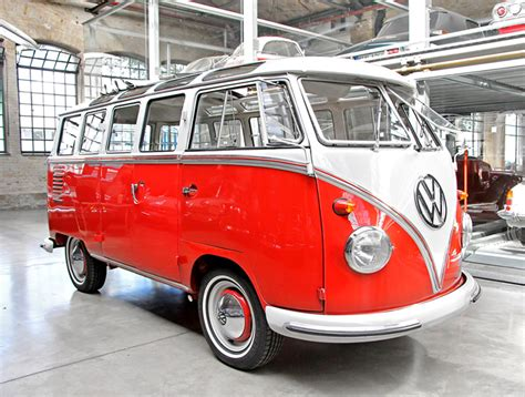iconic vw camper van   revived   battery electric