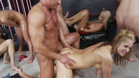 Big Tit Oil Orgy Videos On Demand Adult Dvd Empire