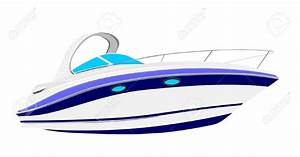 Boat clipart luxury yacht - Pencil and in color boat ...