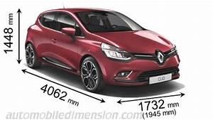 Dimensions Clio 4 : dimensioni di auto renault con lunghezza larghezza e altezza ~ Maxctalentgroup.com Avis de Voitures