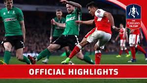 Arsenal 5-0 Lincoln - Emirates FA Cup 2016/17 (QF ...
