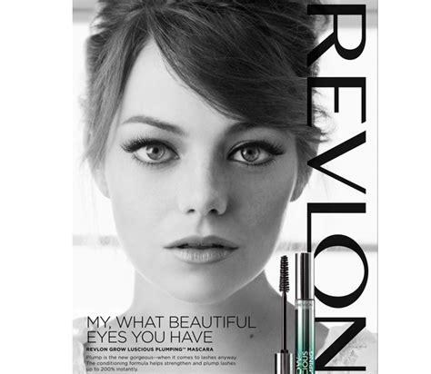 Emma Stone's Brand New Revlon Ads