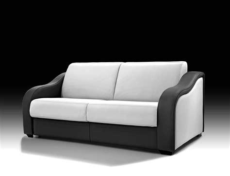 canapé lit cuir canape lit cuir design pas cher lareduc com