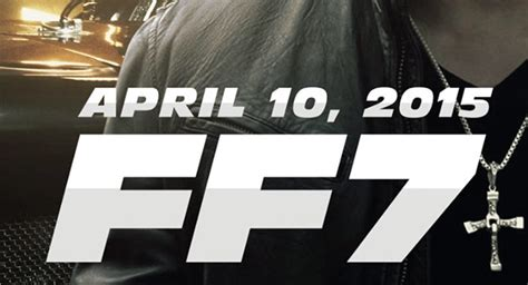 New Official Poster From Fast And Furious 7