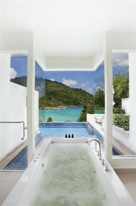dream bathrooms  breathtaking views