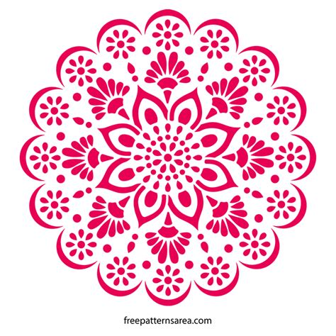 Just click on the button below and the coupon code (welcome) will automatically be applied to your cart, bringing your total to $0.00! Mandala Stencil Wall Art Decal Pattern   FreePatternsArea