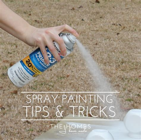 spray paint tips my best spray painting tips tricks the homes i have made
