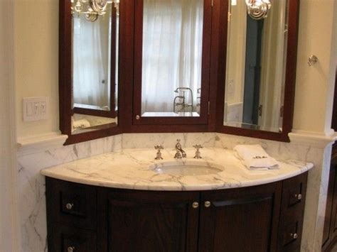 Corner Bathroom Sinks Tips For Choosing A Small Corner