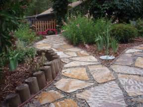 landscape walkway designs how to decorate a garden orchid flowers