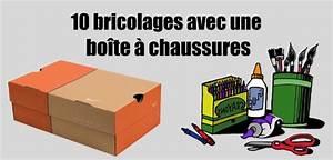 Boite à Bijoux Maison Du Monde : activit manuelle avec boite chaussures 10 projets amusants ~ Teatrodelosmanantiales.com Idées de Décoration