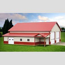Gallery  Finished Pole Barn Photos  Pole Barns Direct