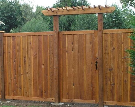 Fence - Gate : Cedar Fences And Gates