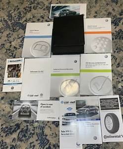 2015 Vw Beetle Owners Manual Set 15 Bug Guide W  Case 2 0t