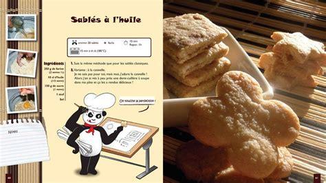 petit chef panda  paris livre de recettes pour