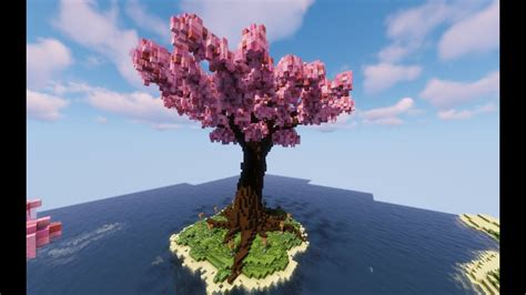 Cherry Blossom Tree Minecraft Cherry Trees Bundle