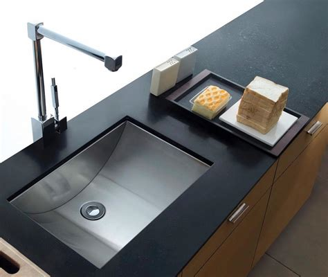 Stainless Undermount Kitchen Sink by Cantrio Koncepts Stainless Steel Undermount Kitchen Sink