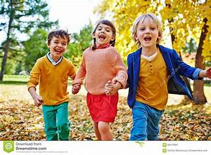 Group of friendly kids stock image. Image of caucasian ...
