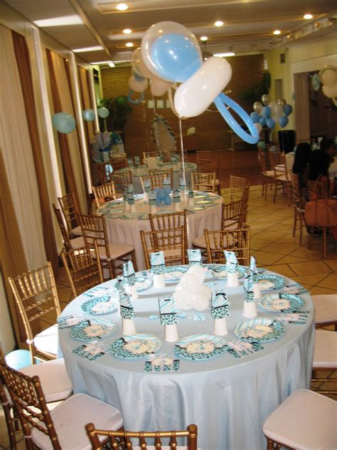 Decorating Ideas For Baby Shower Gift Table by Baby Shower Table Decor Centerpieces Table Decor