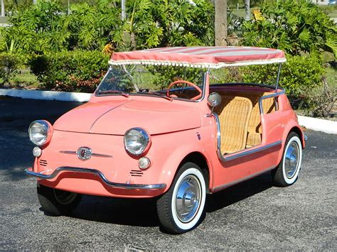 Fiat Jolly by 1959 Fiat Jolly 500 Convertible Wheels Auction