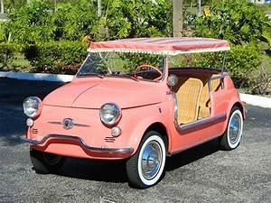Fiat 500 Jolly : 1959 fiat jolly 500 convertible hollywood wheels auction shows ~ Gottalentnigeria.com Avis de Voitures