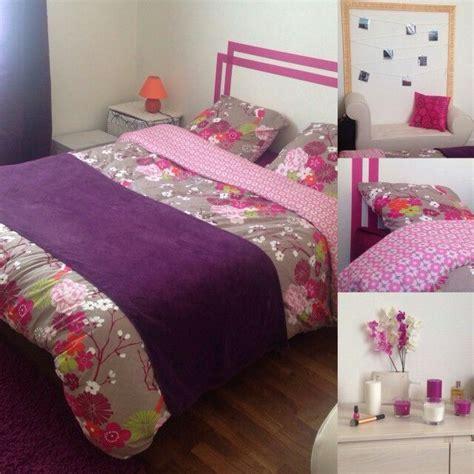 room deco purple chambre boudoir bedroom diy lit