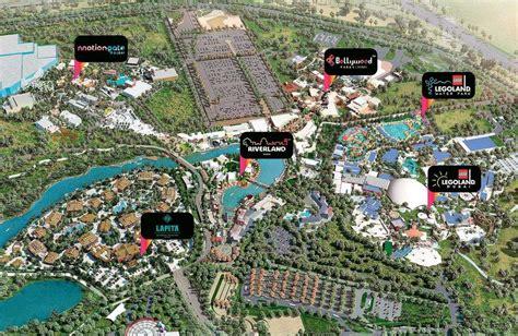 billion dubai parks  resorts  guests arrive
