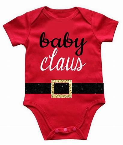 Christmas Claus Bodysuit Onesie Onesies Holiday Santa