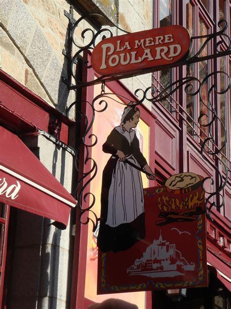 la mere poulard mont st michel the omelet of la m 232 re poulard at the mont michel living language