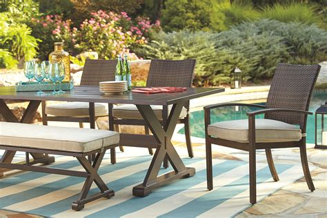 Ashley Furniture Signature Design Moresdale Outdoor Dining ...