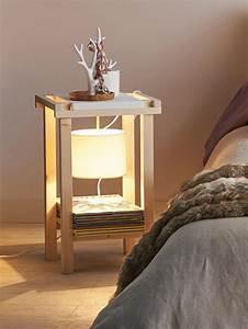 Lampe De Chevet Originale : table de chevet pierre lota ~ Teatrodelosmanantiales.com Idées de Décoration