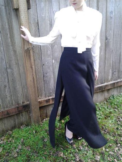 black dress pants  skirt overlay  joseph ribkoff