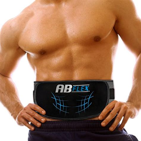ab flex ab toning belt  slender toned stomach muscles