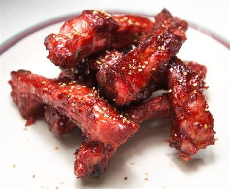 smoked boneless riblets you can t get enough of these asian fried porkribs delicious pinterest cas pork and