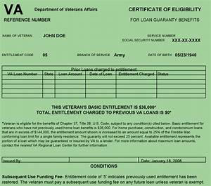 certificate of eligibility veteran39s choice home loans With va home loan qualification letter
