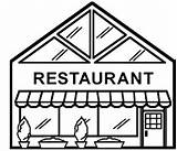 Pages Town Coloring Restaurant Colouring 3d Buildings Create Building Community Drawing Draw Restaurants Simple Fun Explorers Cut Nurture Young Lesson sketch template