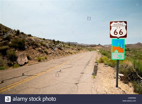 Cowgill S Route 66 Sign Near Truxton Historic Route 66 Route 66 Attraction Stock Photos Route 66 Attraction