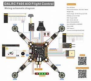 Dalrc F405 Aio Flight Controller