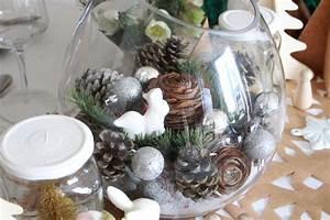 Décoration Fait Maison : deco table noel fait maison ~ Carolinahurricanesstore.com Idées de Décoration