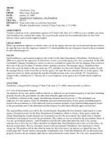 Legal Interoffice Memo Samples