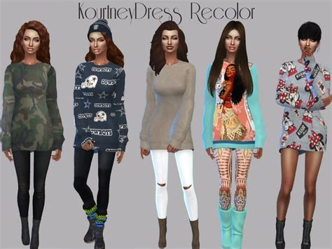 sims    tsr category sims  female everyday